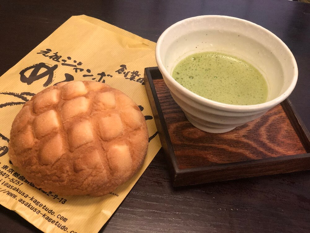 Melon Bread, Matcha