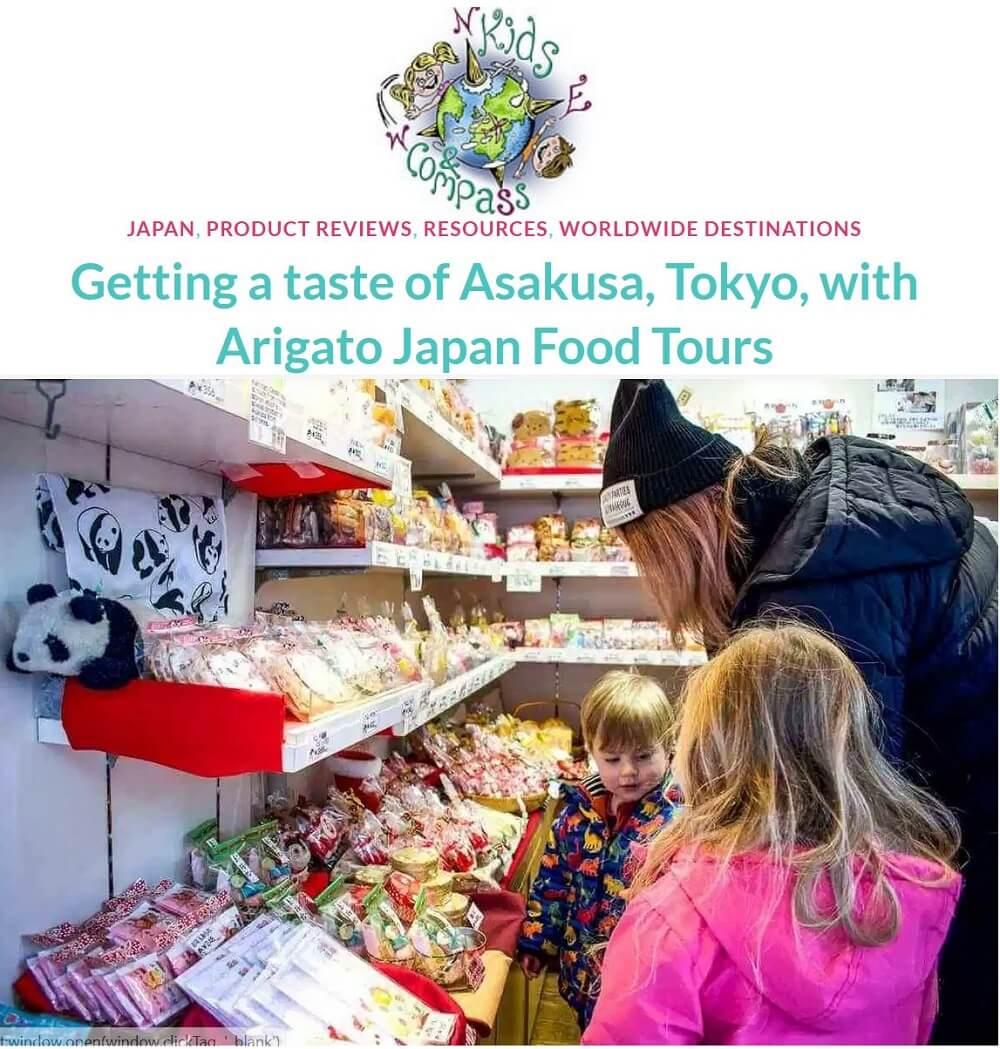 Tokyo's #1 Family Food Tour in Asakusa
