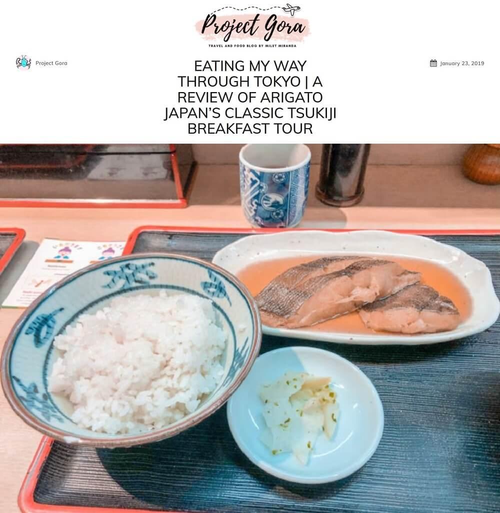 Classic Tsukiji Breakfast Tour