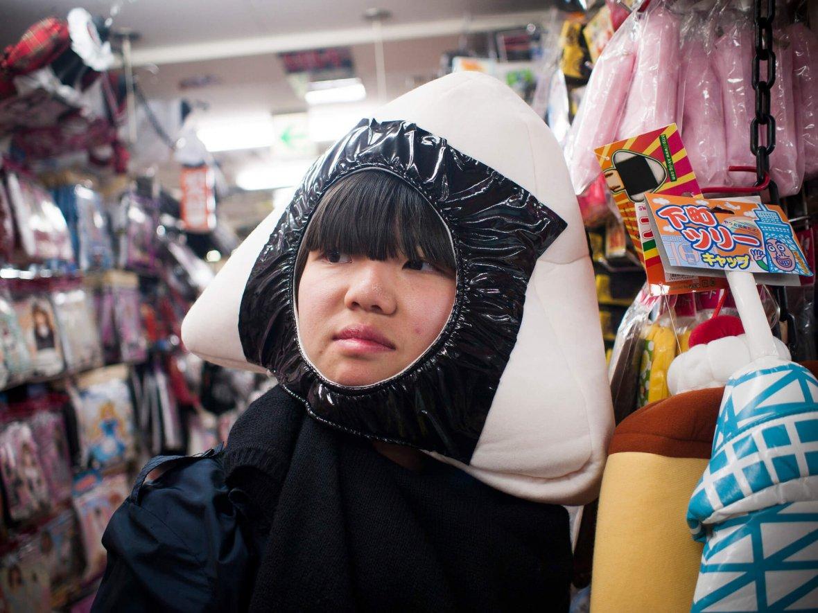Onigiri Costume in Japan