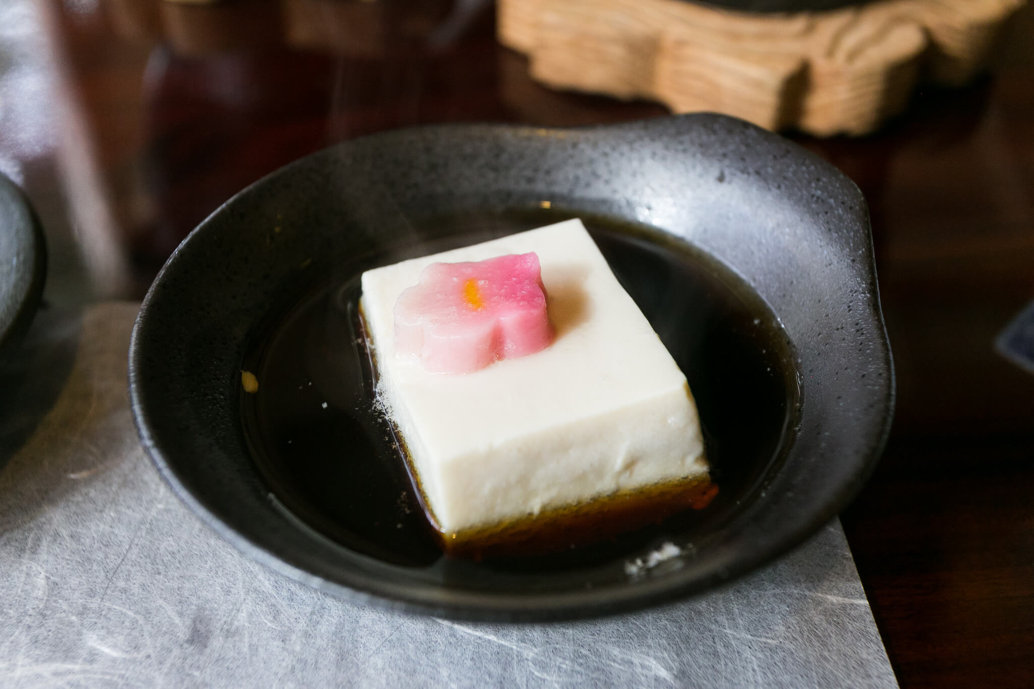 Kyoto food tours Tofu