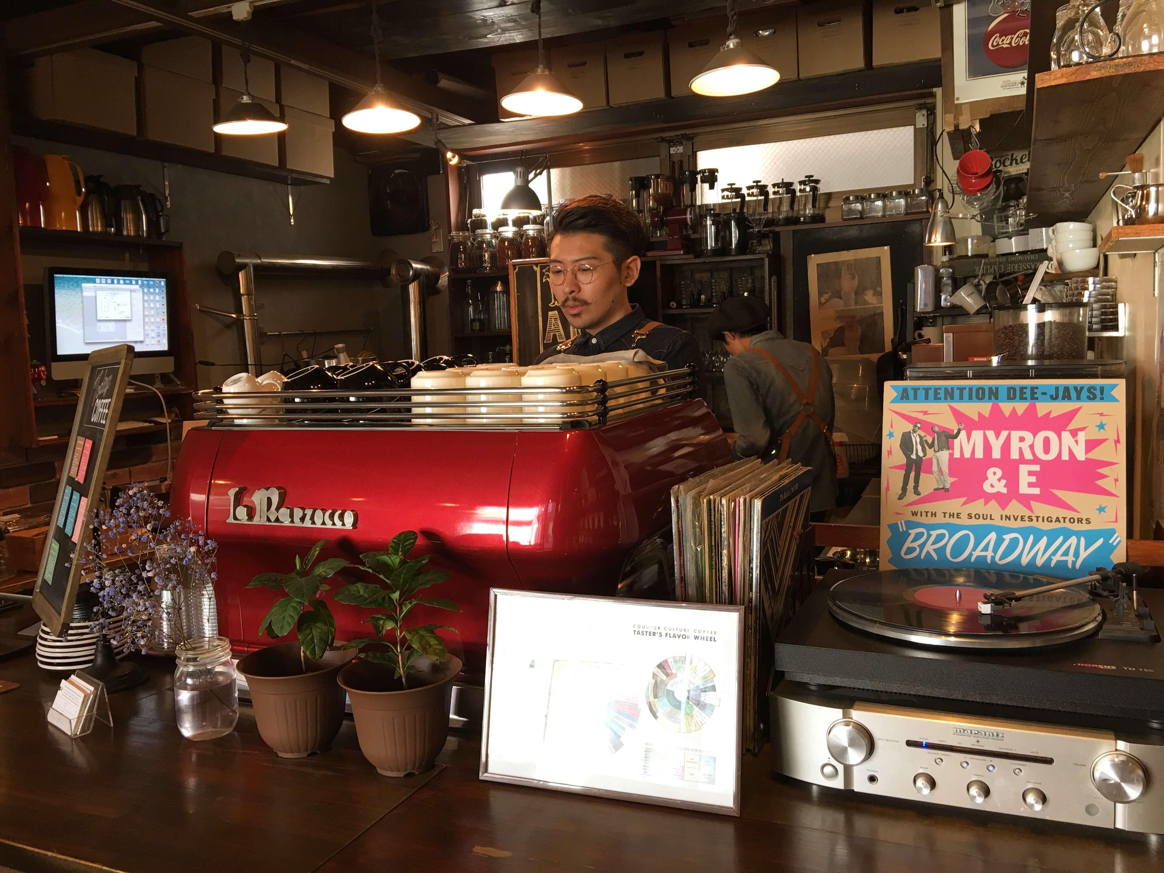 Coffee Scene in Tokyo