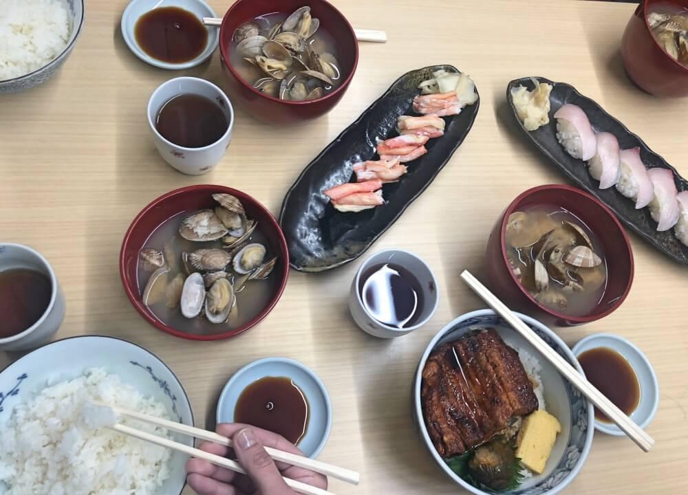 Tsukiji food tour Arigato Japan