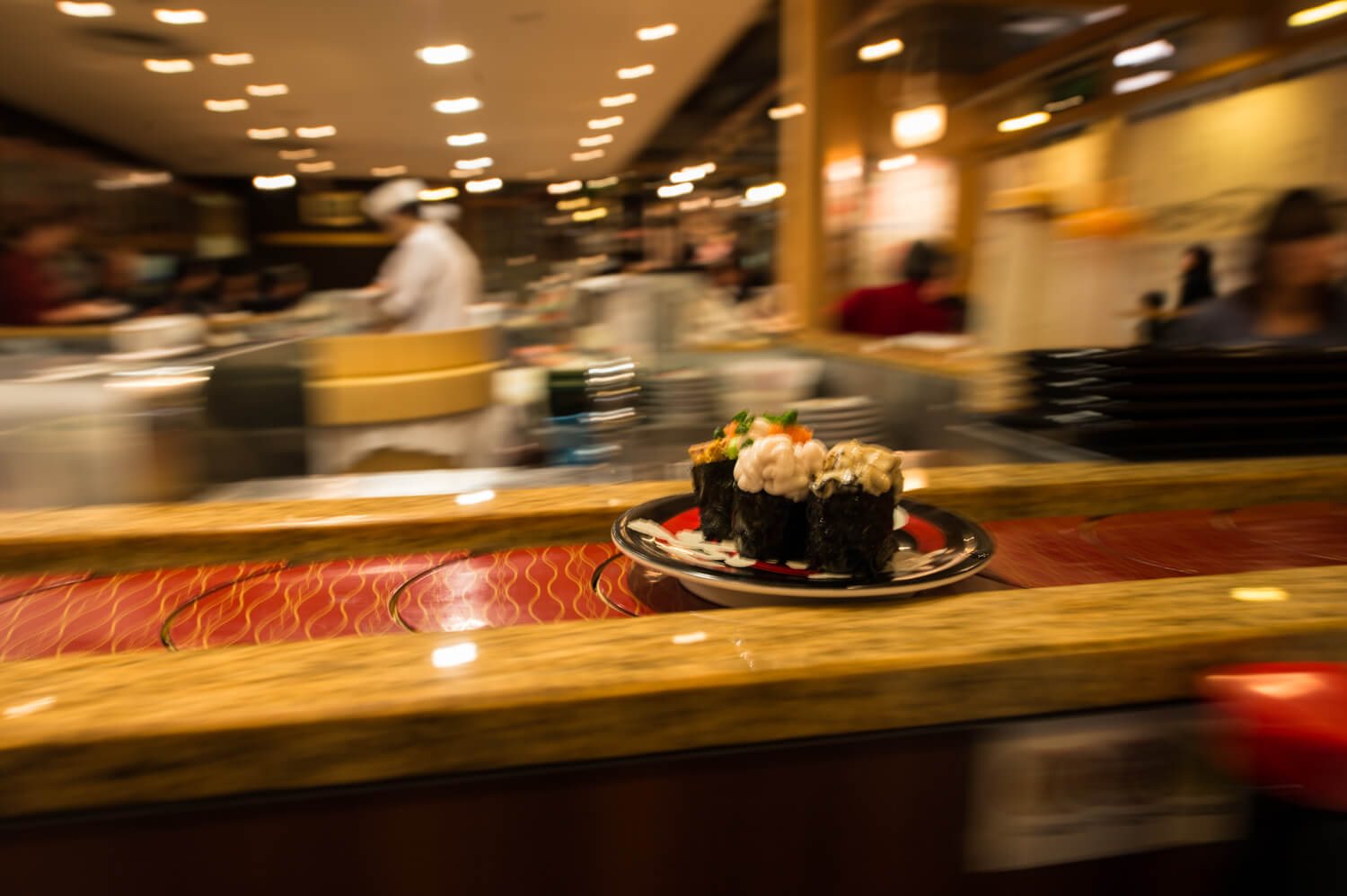 Sushi Passing By - Kaiten Arigato Japan Food Tours
