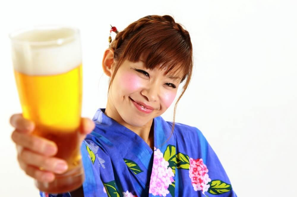Kampai- is Cheers in Japanese - Arigato Japan