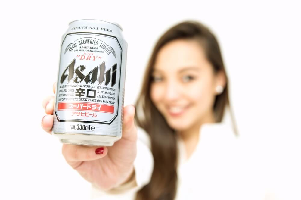 Asahi Japan's top selling beer- Arigato Japan
