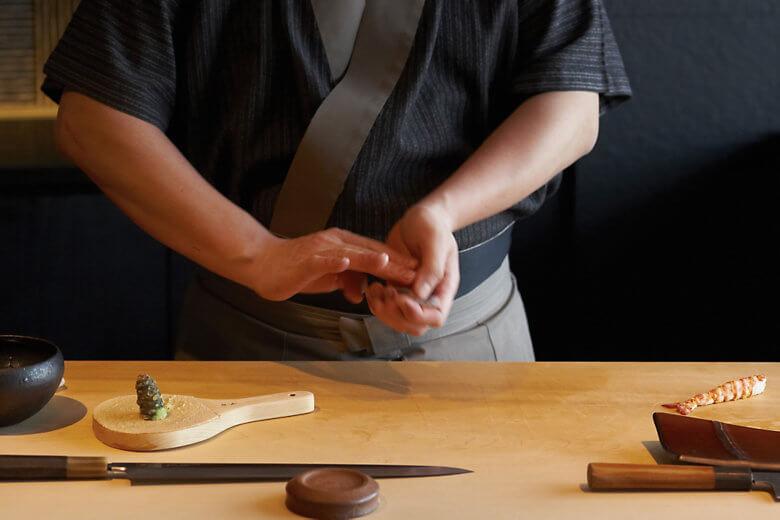 Photo: Mandarin Oriental Tokyo Sushi Sora