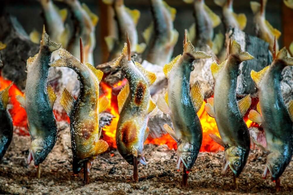 Grilled Ayu Arigato Japan Food Tours