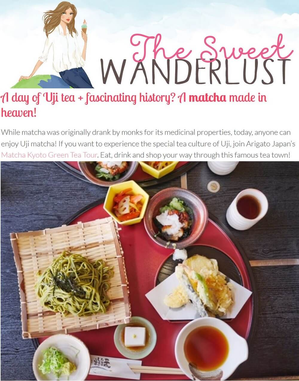 Matcha Kyoto Green Tea Tour - The Sweet Wanderlust