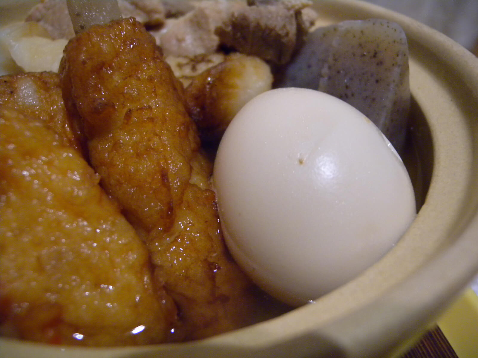 Oden Egg and Fish Cakes