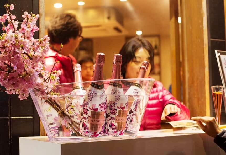 Sakura Champagne