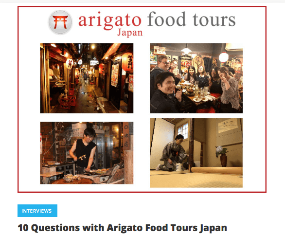 Arigato Japan Food Tours