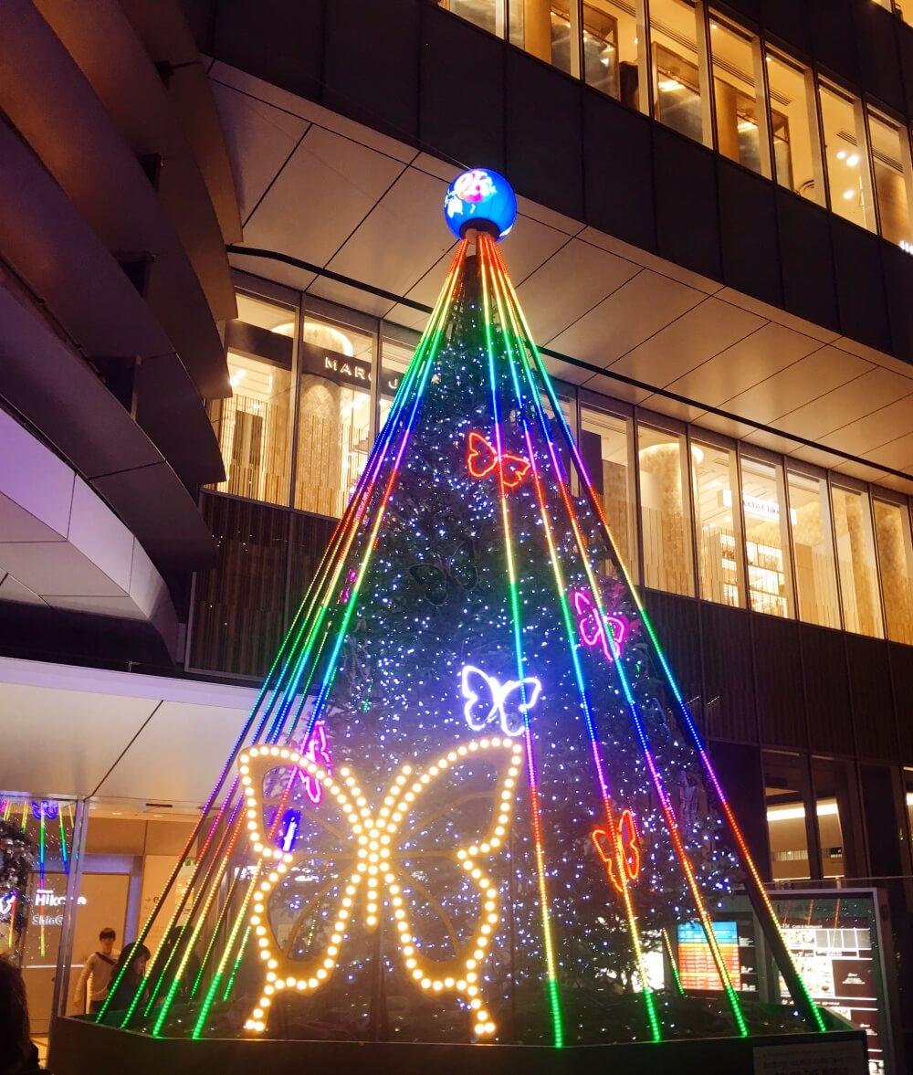 Tree Hikarie Xmas