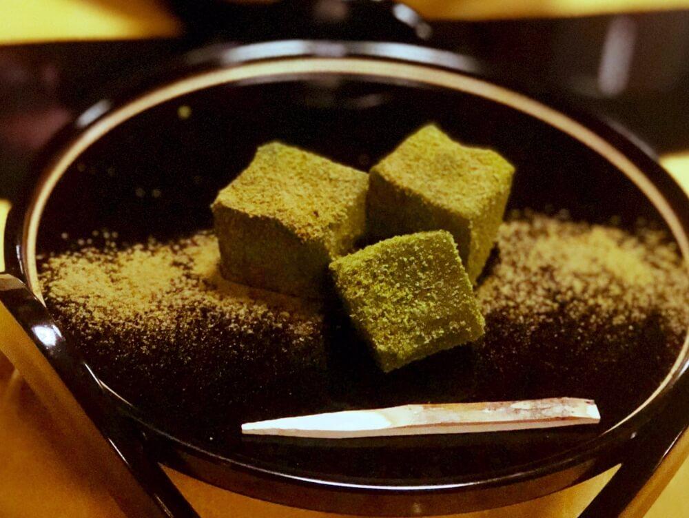 Warabi mochi at Suship