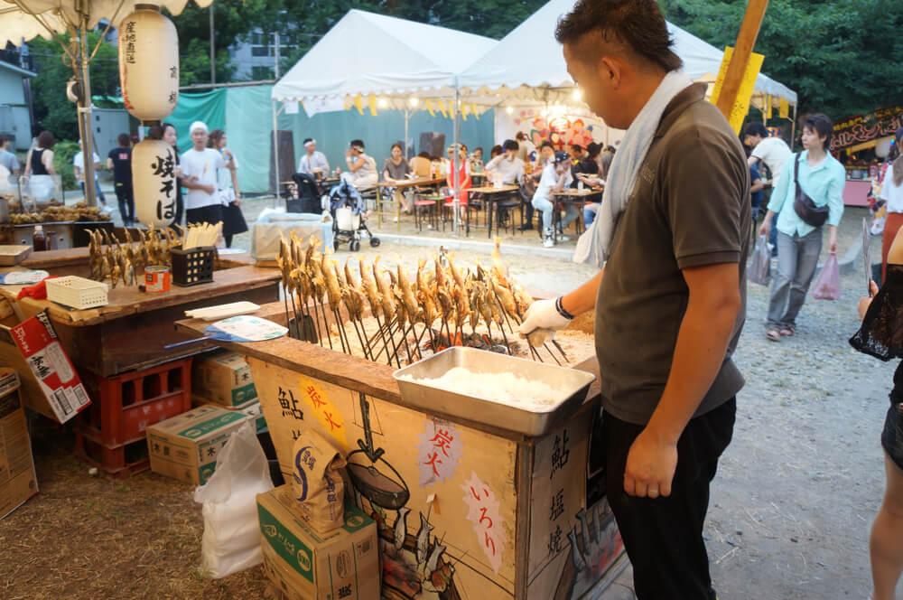 food festival stick