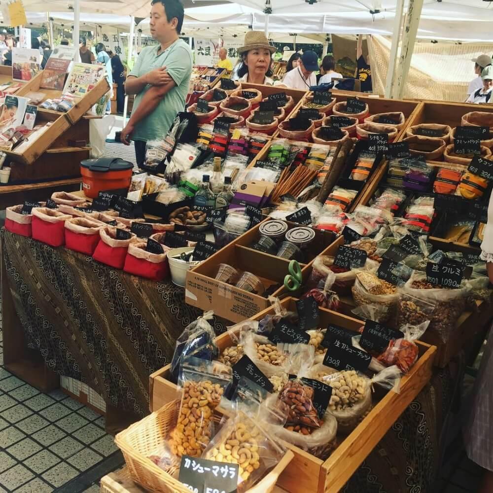 UNU Farmer Market Shibuya - Tokyo