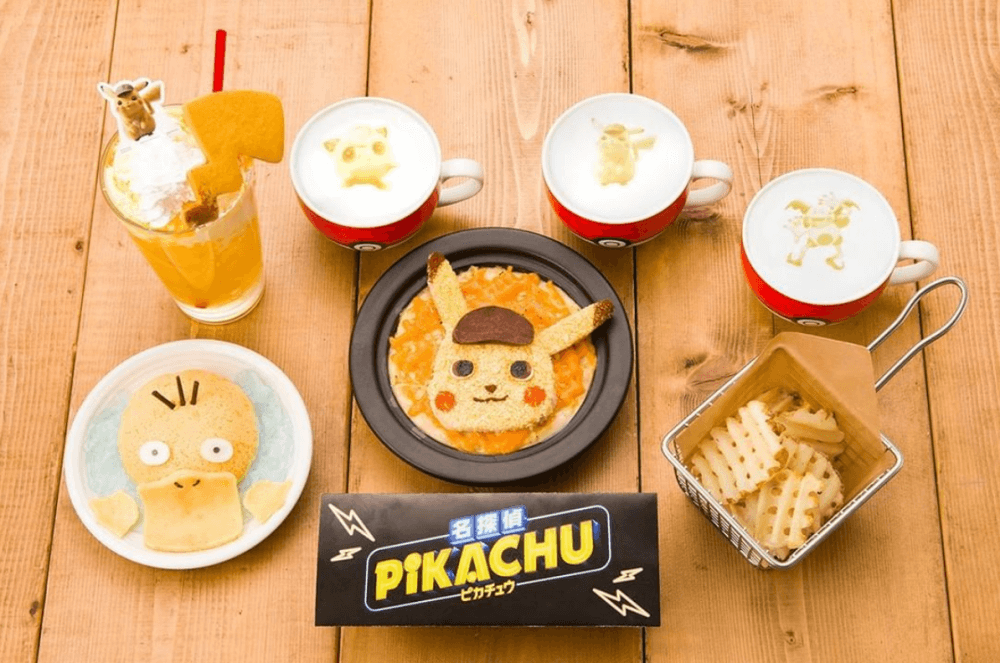 Pikachu pokemon cafe