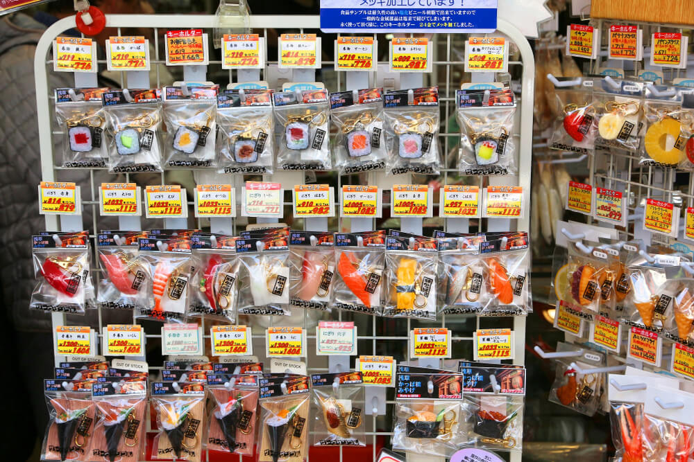 sample food souvenirs