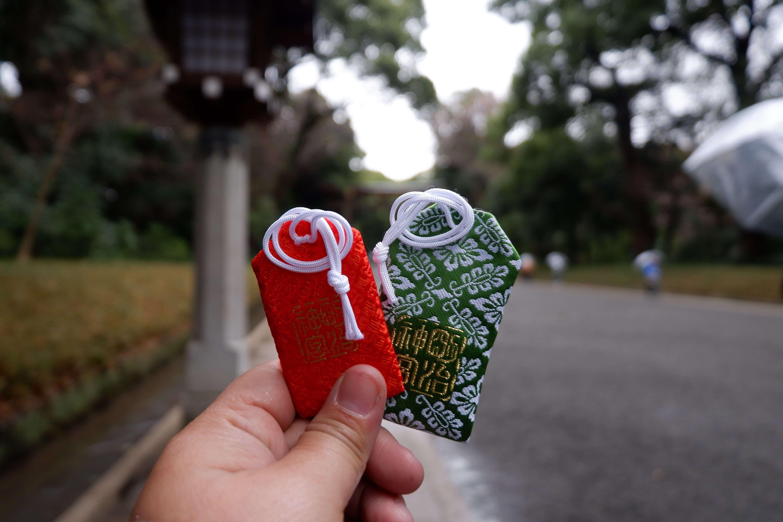Lucky charms Japan