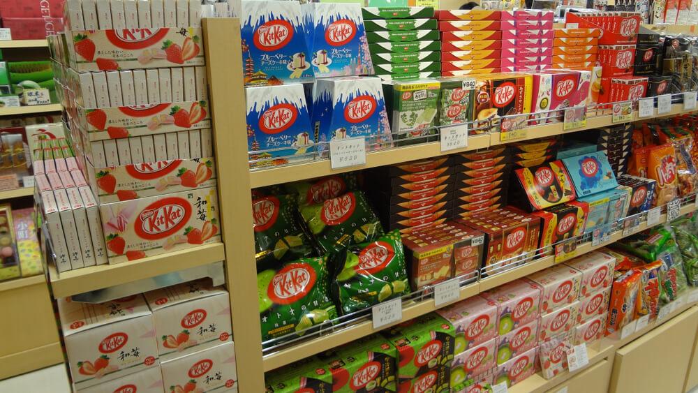 Kit Kats Japan