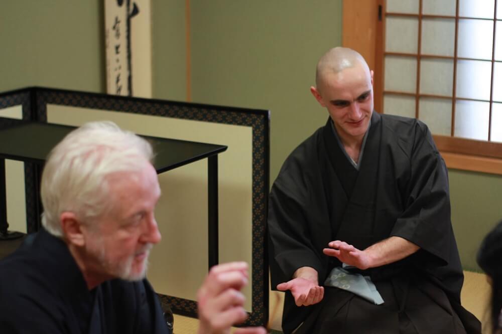 Tea ceremony Tyas Sosen Kyoto