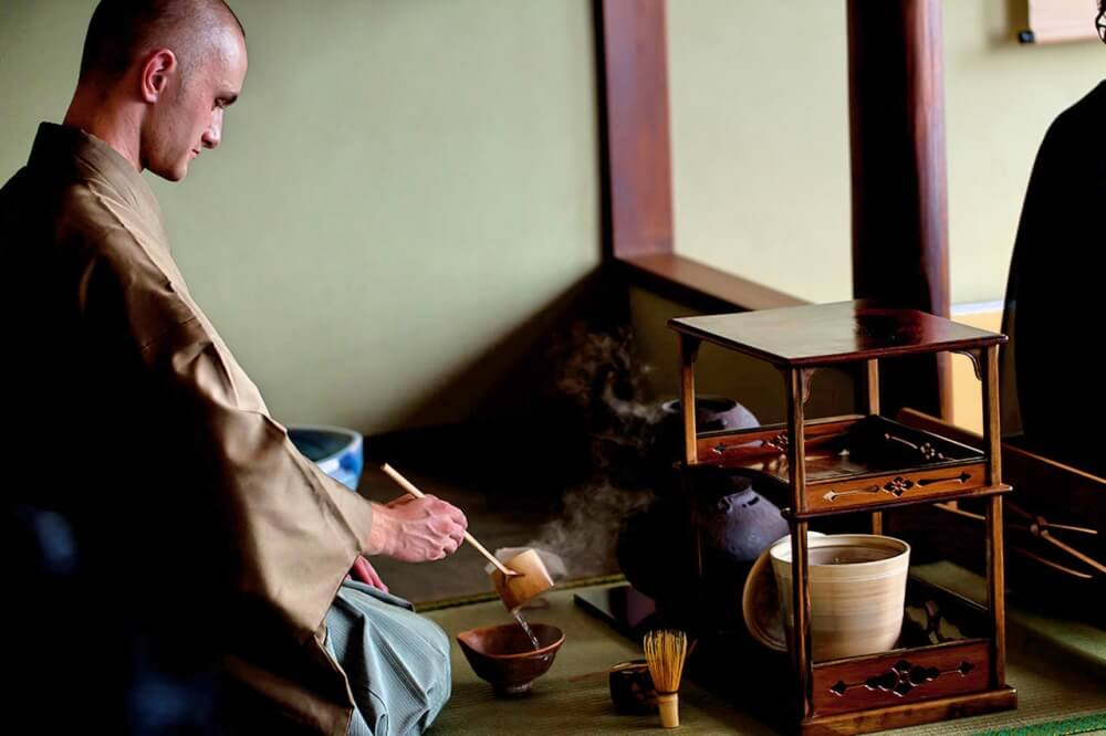Tea ceremony Tyas Sosen Kyoto