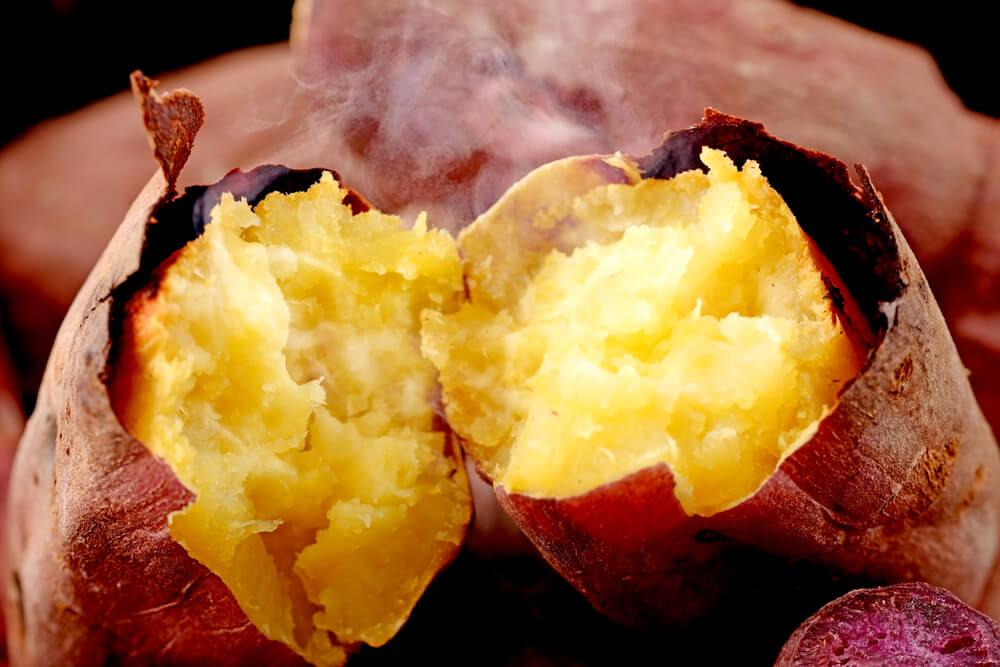 Yaki Imo (roasted sweet potatoes)
