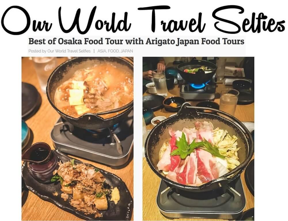 Our World Travel Selfies Osaka
