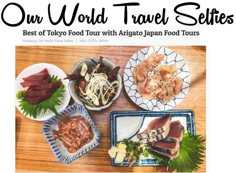 Our World Travel Selfies Asakusa
