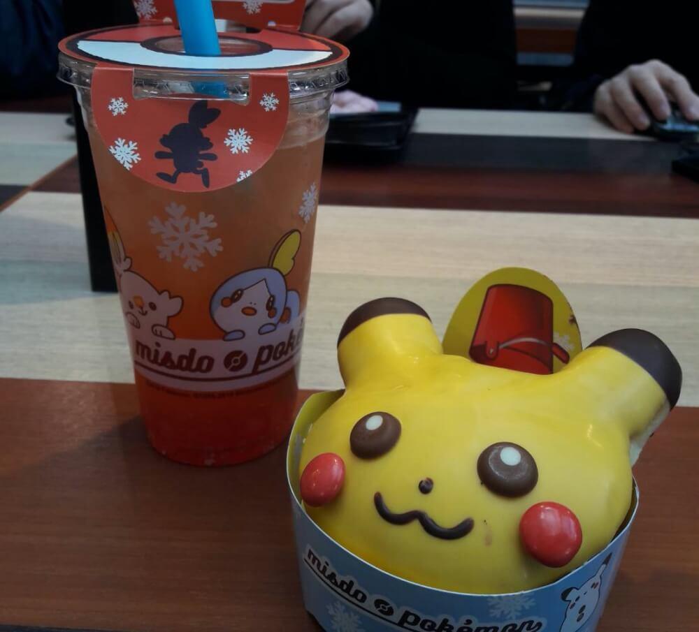 Mister Donut Pokemon