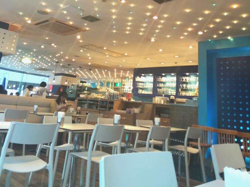 Milky Way Cafe Interior