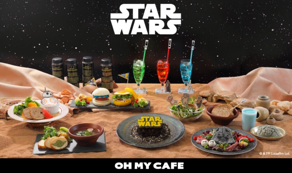 Star Wars Cafe 2020 Japan