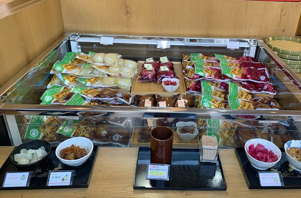 Food, Culture and Calligraphy Tour in Sugamo - Pickled food